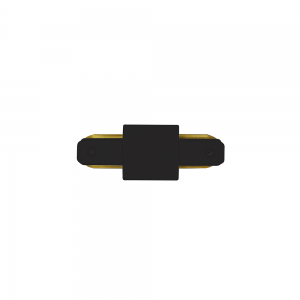 Emenda para Trilho (I) na cor Preto