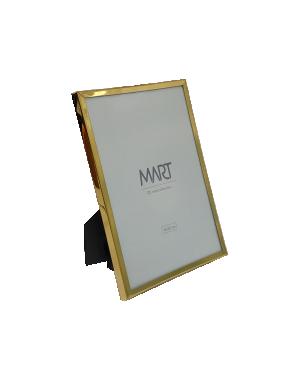 Porta-retrato Médio Dourado em Metal da Mart