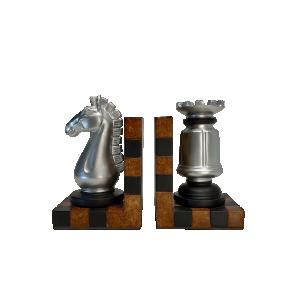 Escultura Tabuleiro Xadrez