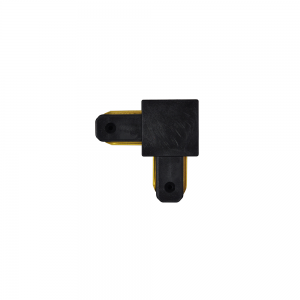 Emenda para Trilho (L) na cor Preto