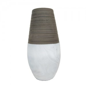 Vaso de Cerâmica Marmorizada