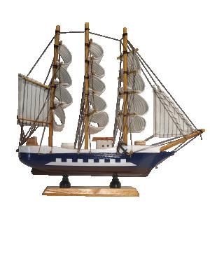 Barco de Madeira Decor