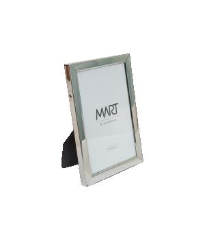 Porta-retrato Pequeno Prata em Metal da Mart