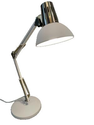 Luminária de Mesa Articulada Beaver na cor Branco