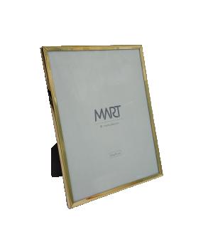 Porta-retrato Grande Dourado em Metal da Mart