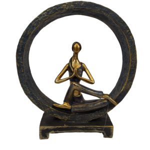 Yoga Namastê Resina Decor