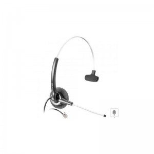 Stile Compact Black Headset ( plug RJ)