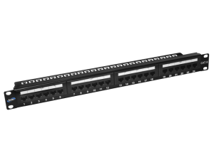 PATCH PANEL CAT5E COM SUPORTE