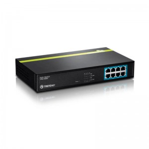 Switch 8P 10/100 POE TPE-T80H