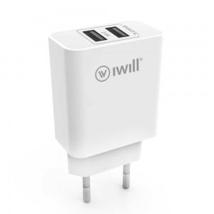 Fonte de Alimentação USB de 2 Saídas iWill