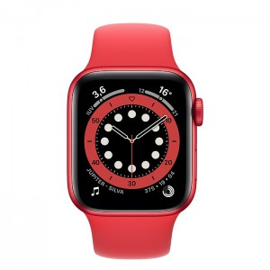 Apple Watch Série 6 44mm Red(Product) (GPS)