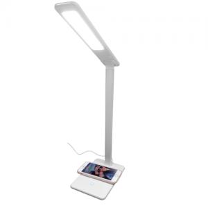 Lâmpada de Mesa com Carregamento Wireless 10w
