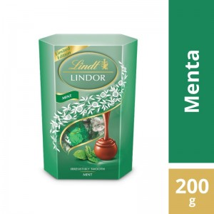 Chocolate Lindt Lindor Mint 200g