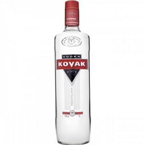Vodka Tridestilada Kovak 1L
