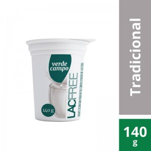 Iogurte Verde Campo Lacfree Natural 140g