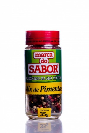 Mix de Pimentas Marca Do Sabor 35g