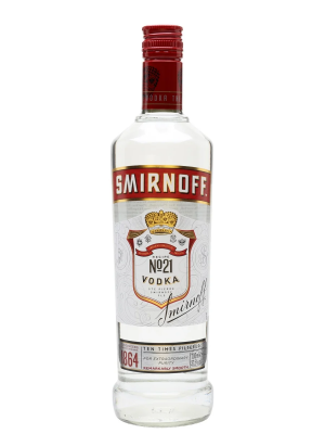 Vodka Triple Distiled Smirnoff 998ml