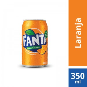 Refrigerante Fanta Laranja Normal Lata 350ml