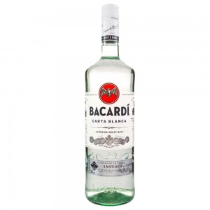 Rum Carta Branca Bacardi 980ml