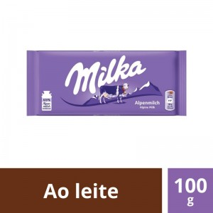 Chocolate Milka Alpine Milk 100g