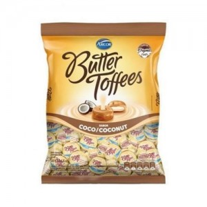 Bala Butter Toffees Coco 100g