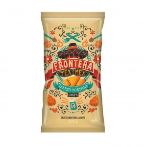 Tortilla Chips Fronteira Salted 200g