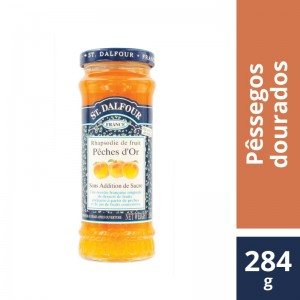 Geléia St Dalfour Peches D`Or 284g