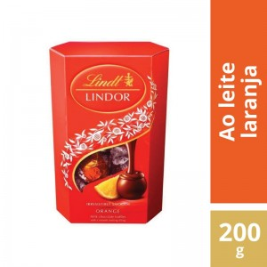 Chocolate Lindt Lindor Orange 200g
