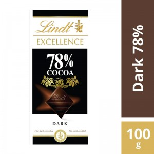 Chocolate Lindt Excellence 78% Cocoa 100g