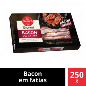 Bacon Fatiado Seara Gourmet 250g