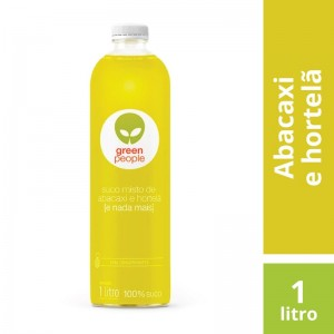 Suco Greenpeople Abacaxi com Hortelã 1L