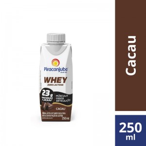 Bebida Piracanjuba Whey Cacau 250ml