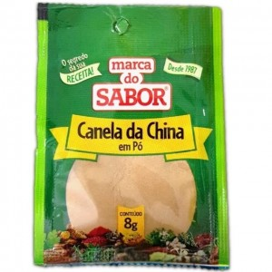 Canela da China Marca Do Sabor Sachê 8g