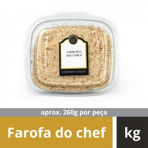 Farofa do Chef Farinha Pura Kg