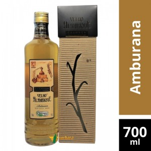 Aguardente Velho Alambique Amburana 700ml