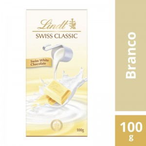 Chocolate Lindt Swiss Classic White Classic 100g