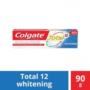 Creme Dental Colgate Total 12 Gel Whitening 90g