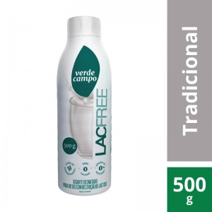 Iogurte Verde Campo Lacfree Natural 500g