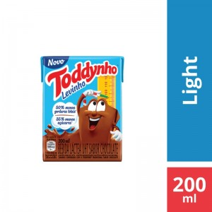 Achocolatado Toddynho Light 200ml