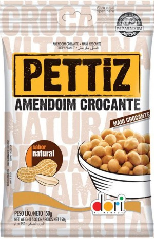 Amendoim Pettiz Crocante Natural 150g