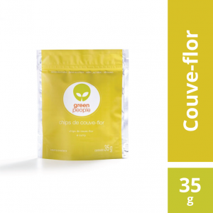 Chips Couve-flor e Curry Greenpeople 35g