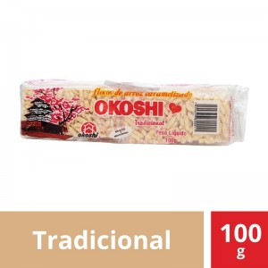Barra de Arroz Original Okoshi 100g