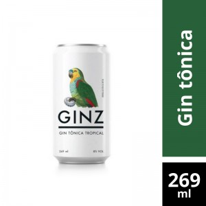 Gin Tonica Ginz 269ml