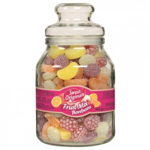 Bala Sweet Originals Fruit Mix Vidro 966g