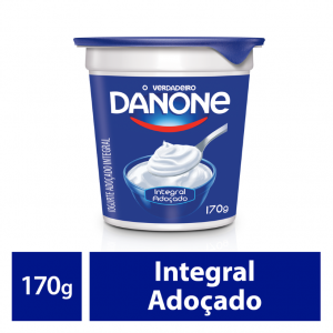 Iogurte Natural Danone Integral 160g