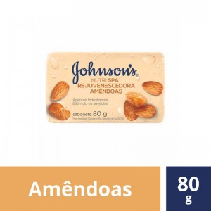 Sabonete Johnson Amêndoa 80g