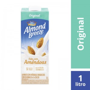 Bebida Amendoa Almond Breeze Original 1L