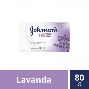 Sabonete Johnson Lavanda 80g