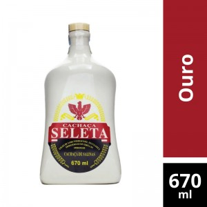 Aguardente Seleta Porcelana 670ml