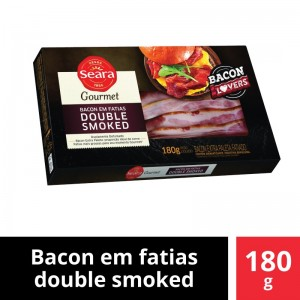 Bacon Double Smoked Fatiado Seara Gourmet 180g